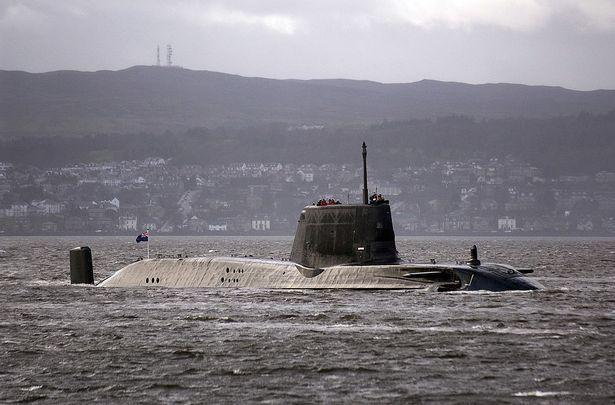Britanska jedrska odmornica