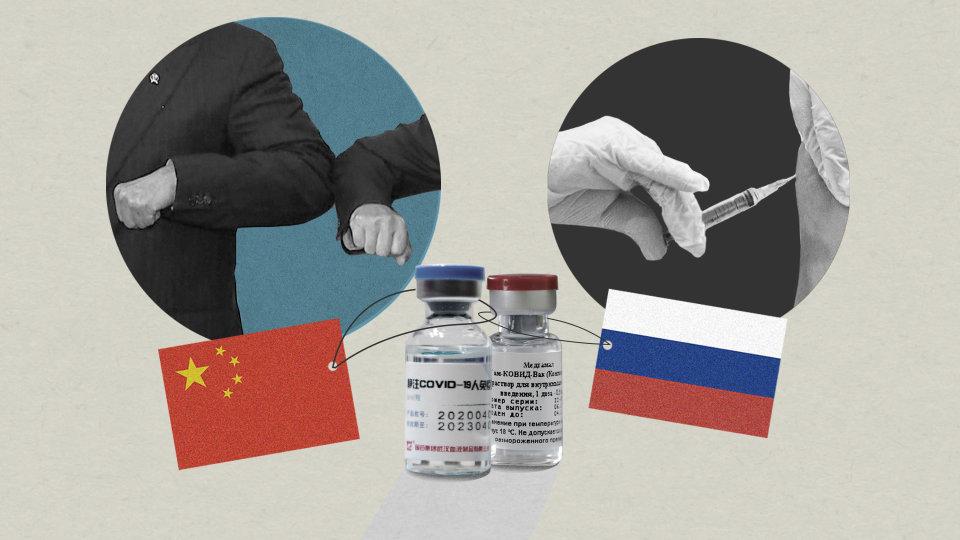 Ruska in kitajska cepiva prehitevajo zahodnoevropska in ameriška