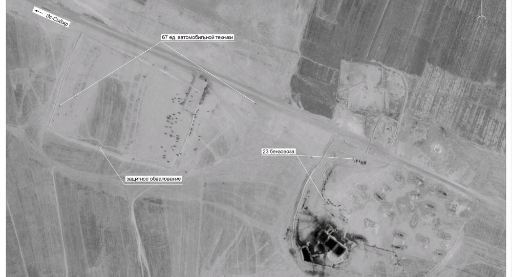 Satelitski posnetki - tihotapljenje nafte, Sirija