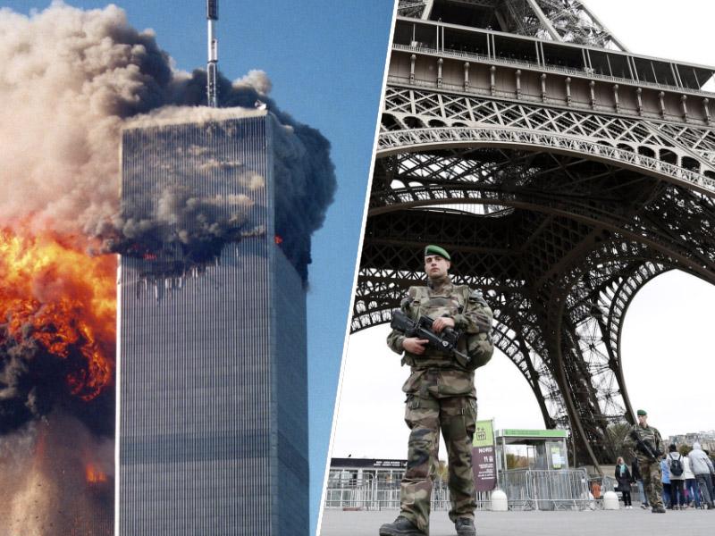 11 september in Pariz napad