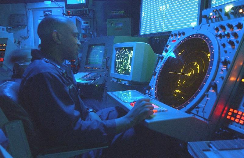 Radarji na letalonosilki Roosevelt