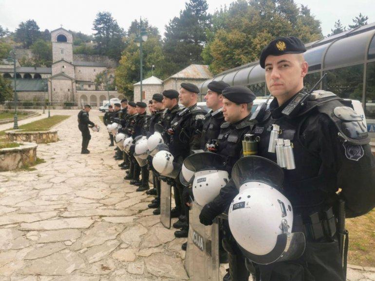 Policija na Cetinju