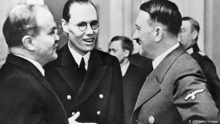 Molotov, Ribentrop in Hitler