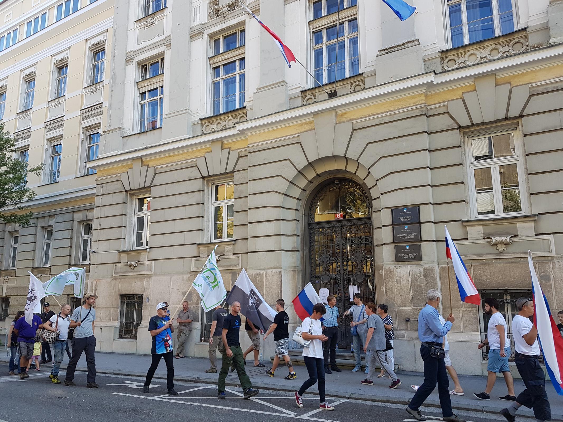 Podporniki Andreja Šiška Vir:SSN