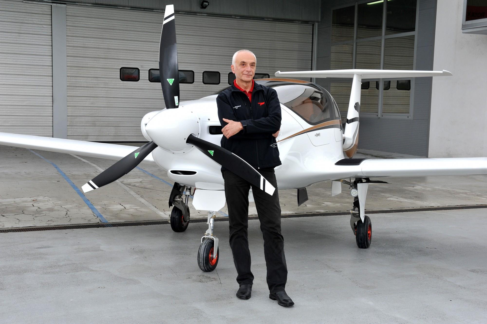 Ivo Boscarol pred letalom Vir: www.pipistrel.si