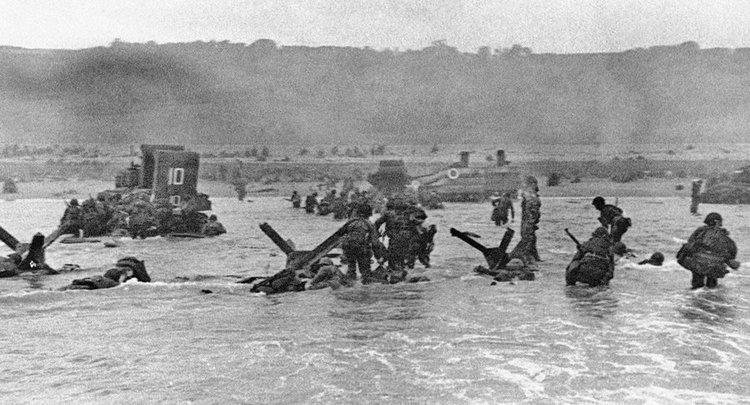 Izkrcanje - Nomandija, 6.6.1944 dan D