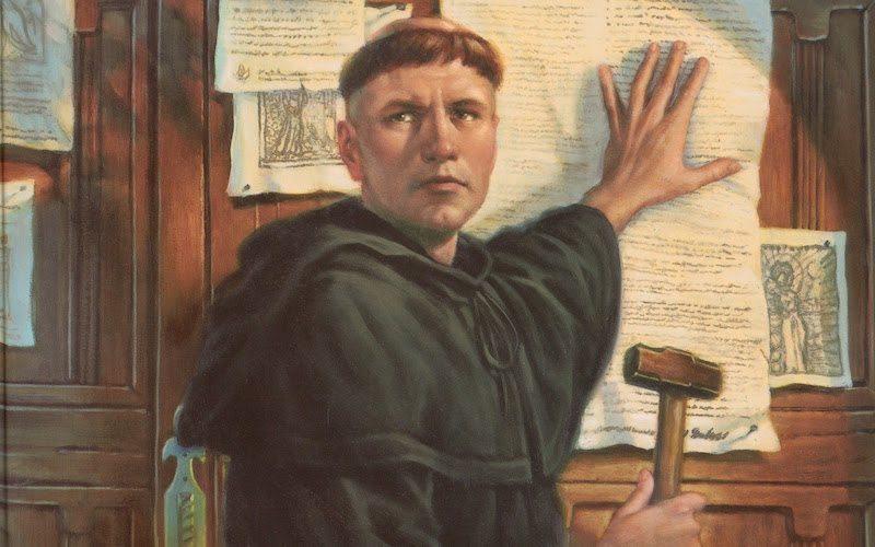Martin Luther med svojim prelomnim dejanjem