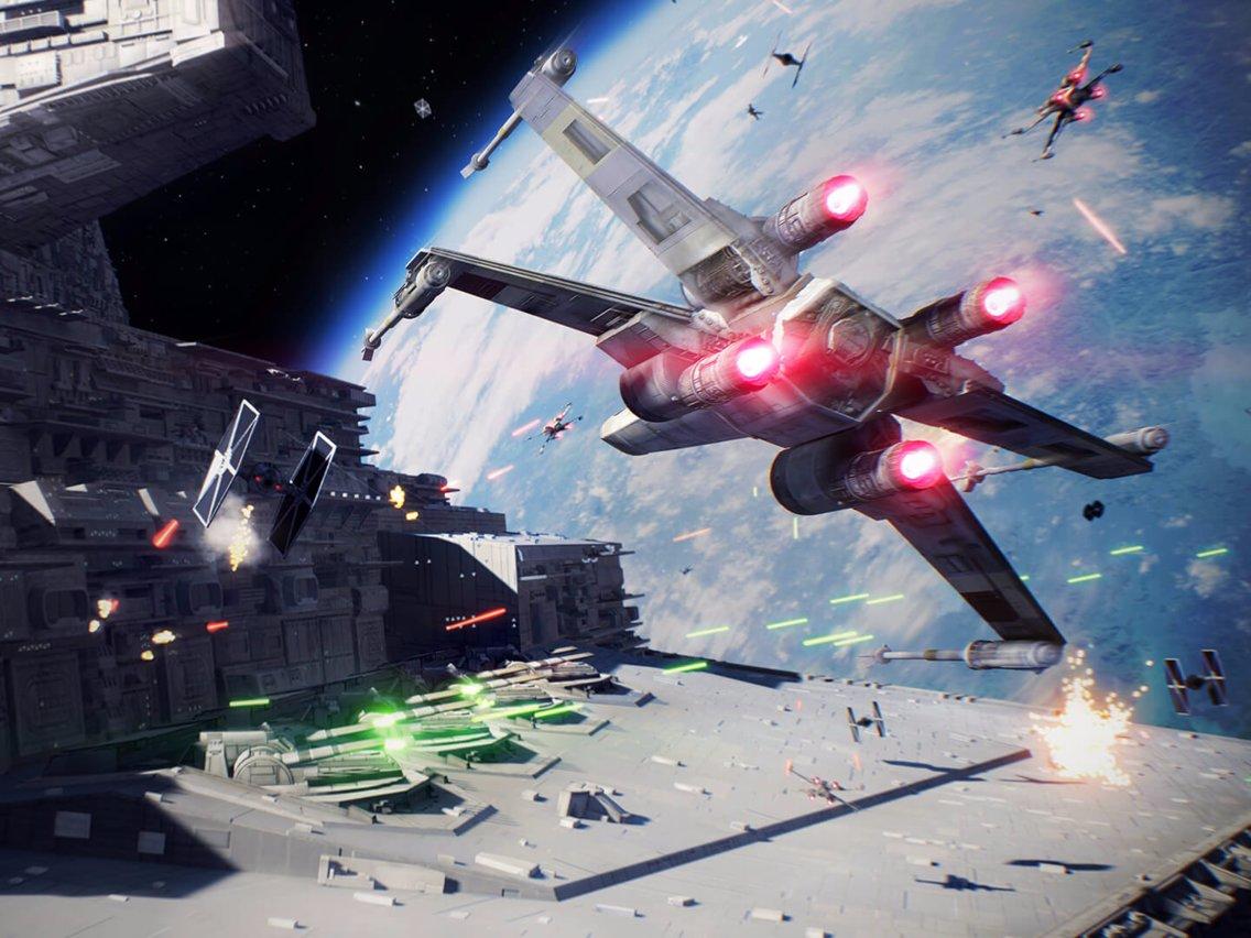 Prizor iz igre Star Wars