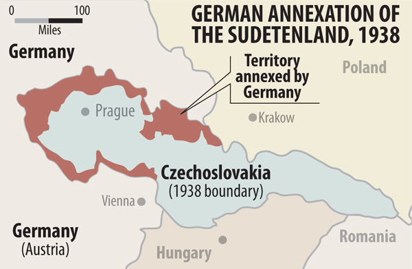 Razkosanje Čehoslovaške