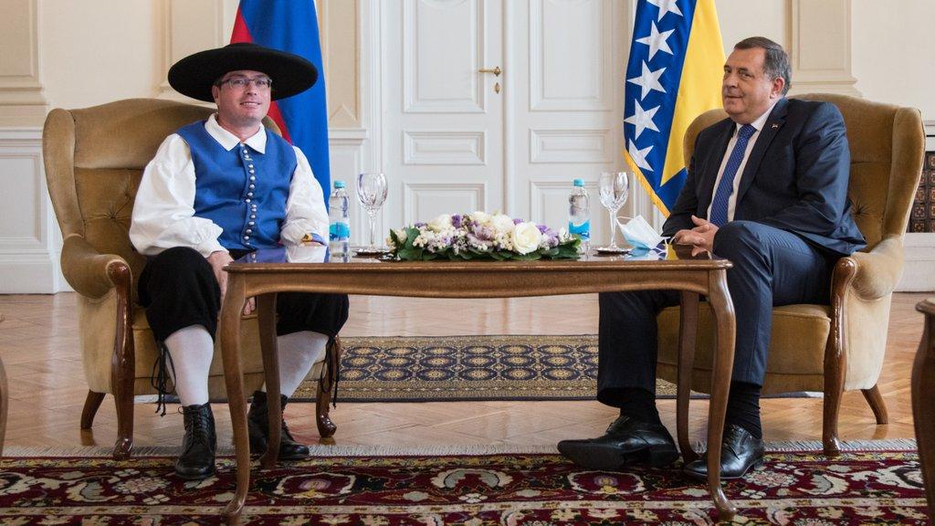 Dodik in slovenski veleposlanik