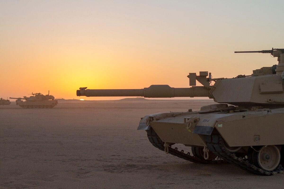 Ameriški tank Abhrams Vir:Militarytimes.com