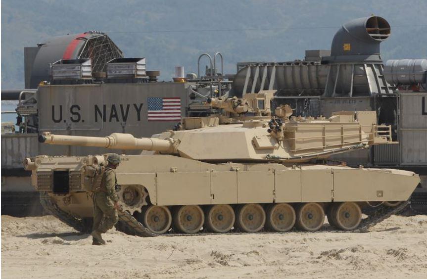 Abrams, tank  Vir:Twitter