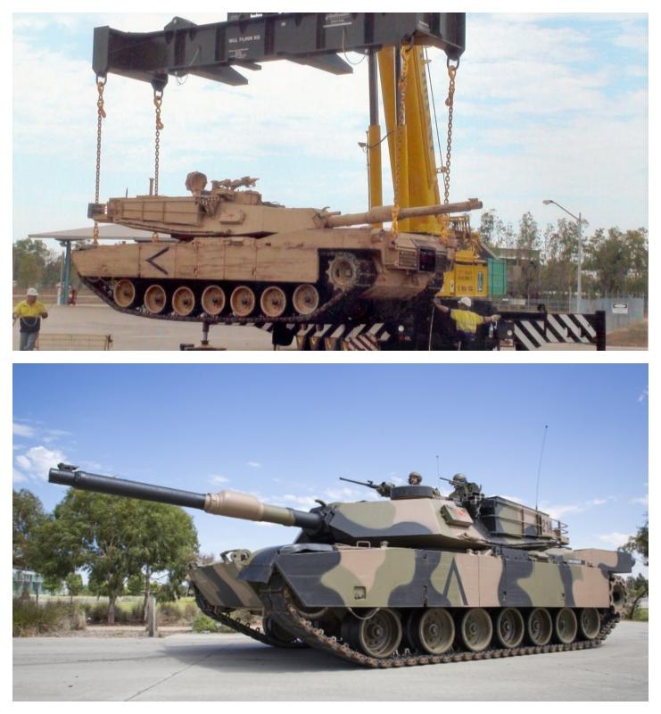 Dvigovanje tankov Vir: DOT