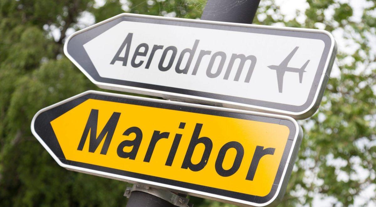 Letališče Maribor - tabla