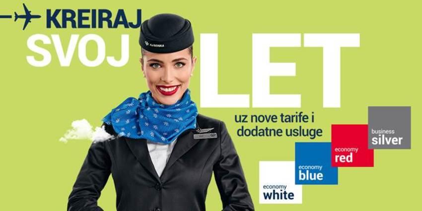 Air Serbia - poziv