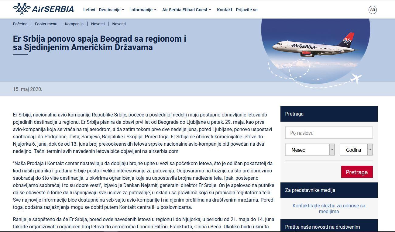 Srbija povezuje regijo