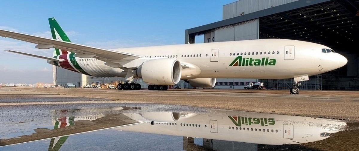 Letalo Alitalia Vir: Alitalia