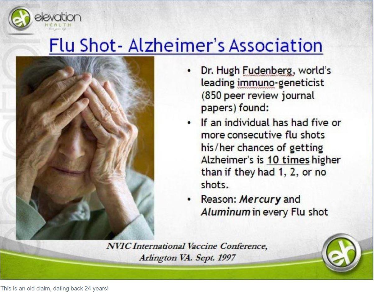 Alzheimerjeva bolezen - že pred 24 leti iste teorije...