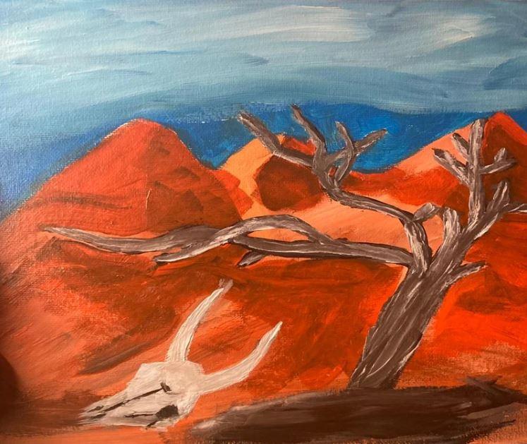Slika Omarja bin Ladna - Ameriške sanje
