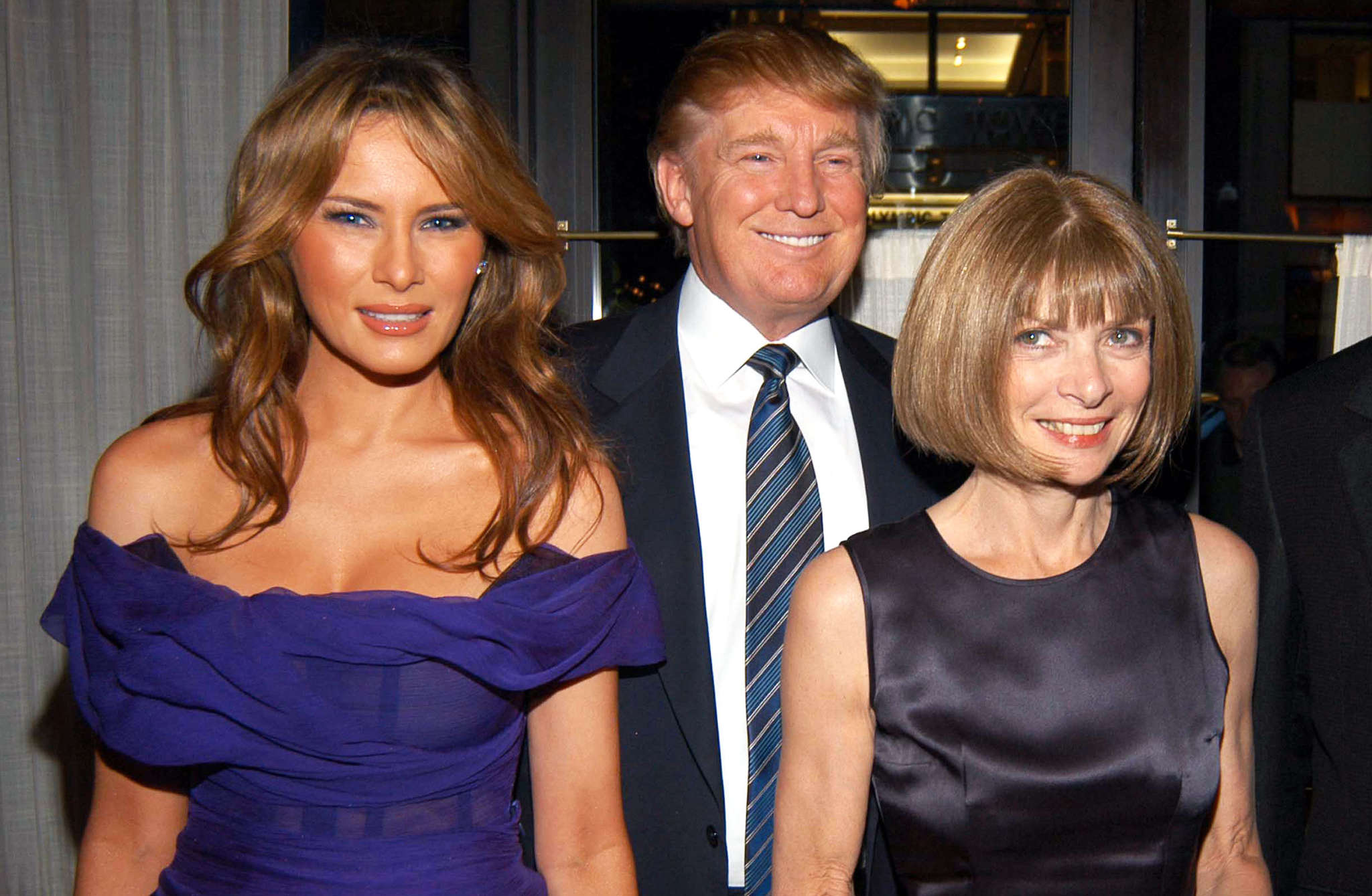 Anna Wintour in Melania Trump Vir: Celebrity Insider