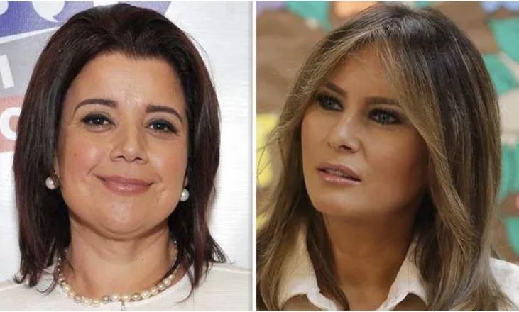 Ana Navarro in Melania Trump