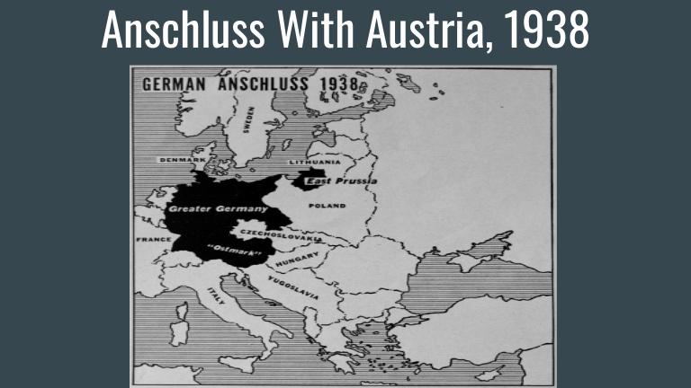 Priključitev Avstrije Nemčiji