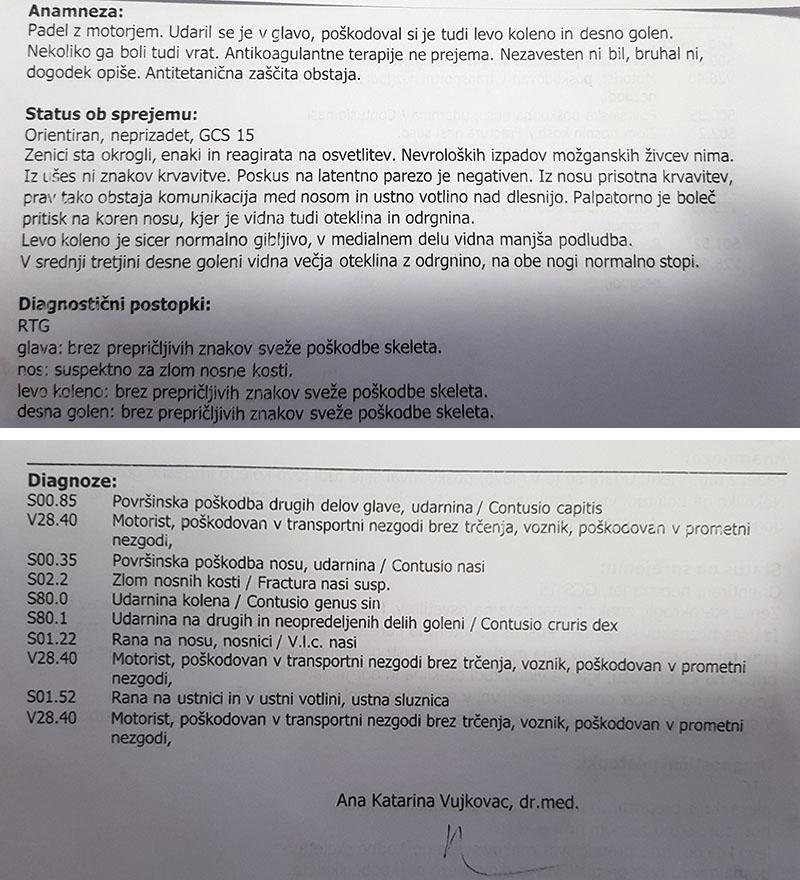 Anže Šimenc / zdravniški list