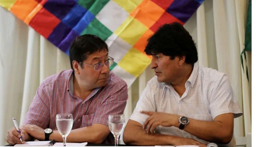 Arce in Morales se zavzemata za socializem