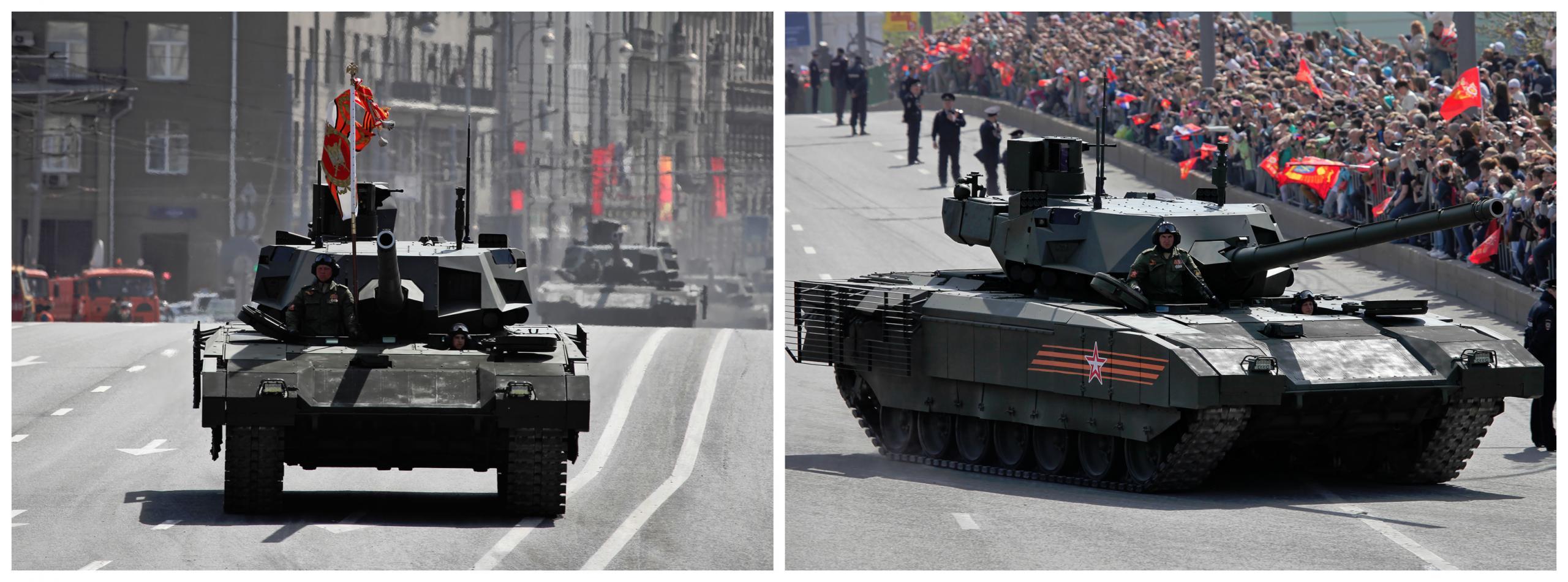 Paradni ruski tank Armata T-14, vir: Wikipedia