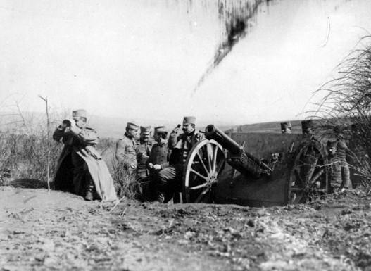 Srbska artiljerija