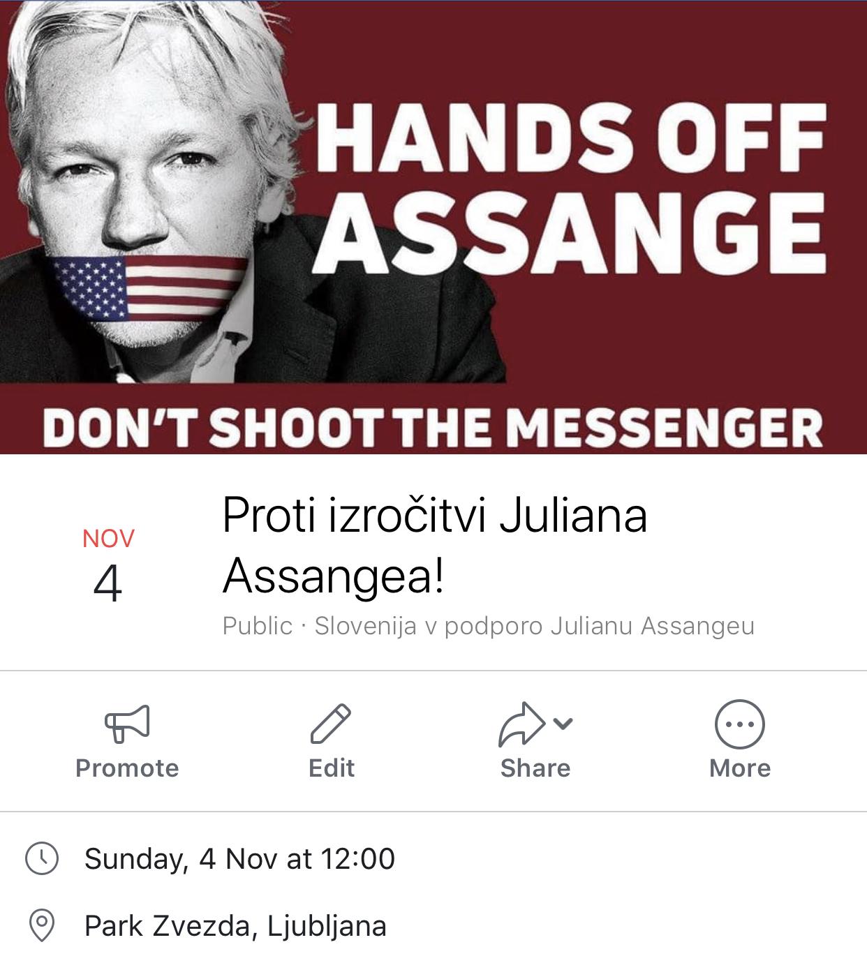 Assange - poziv