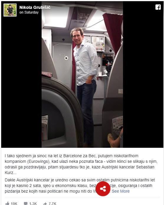 Kurz v letalu