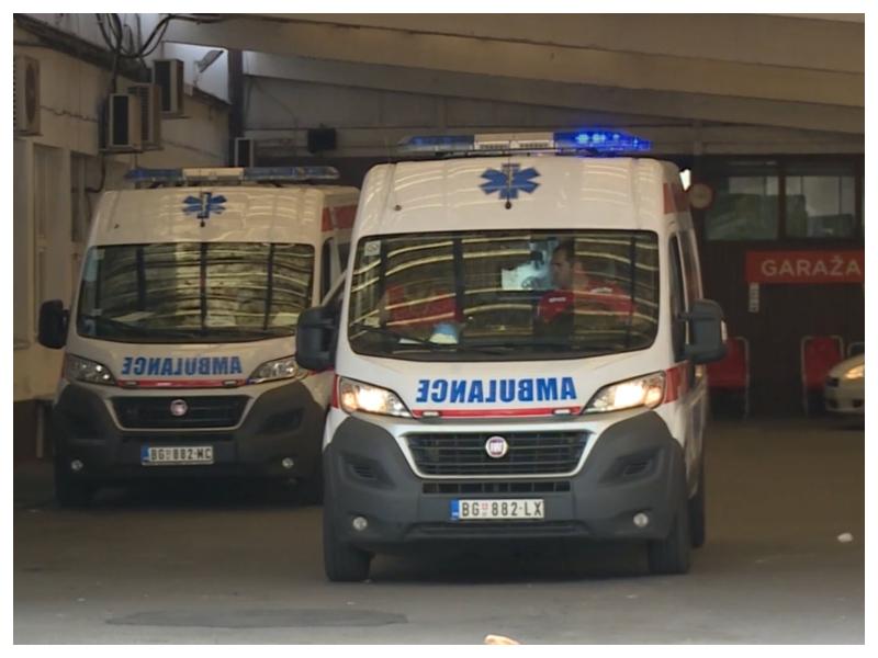 Ambulantni avto - Beograd