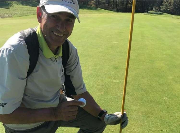 Golfist Janša