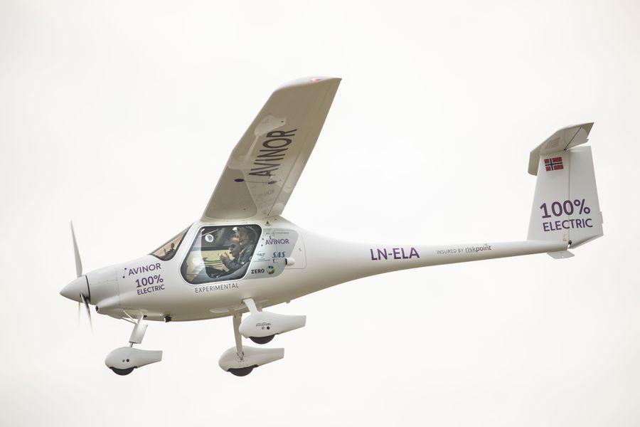 Pipistrelovo električno letalo