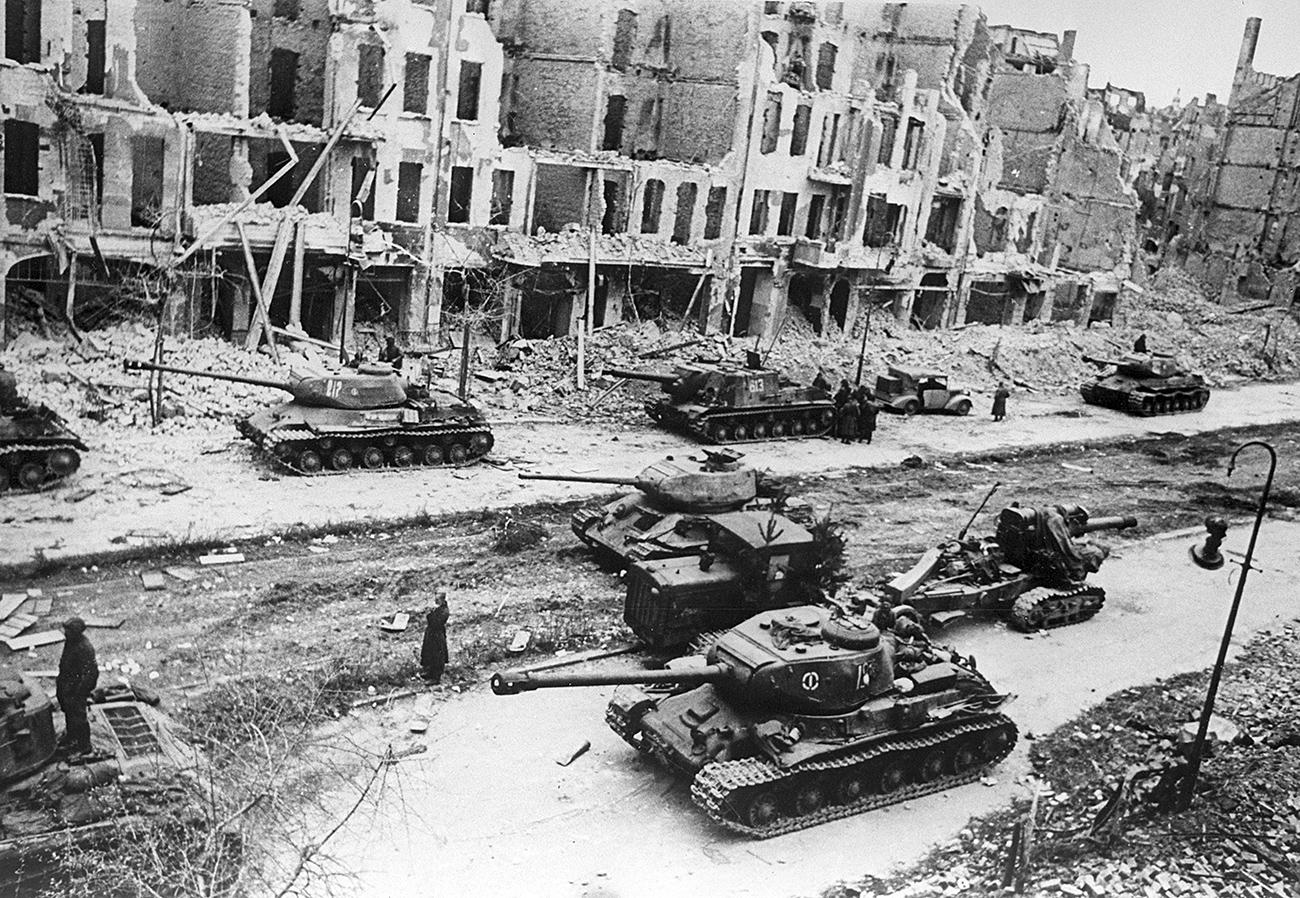 Tanki Rdeče armade Berlinu