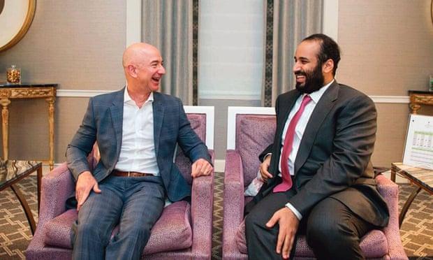 Bezos in bin Salman