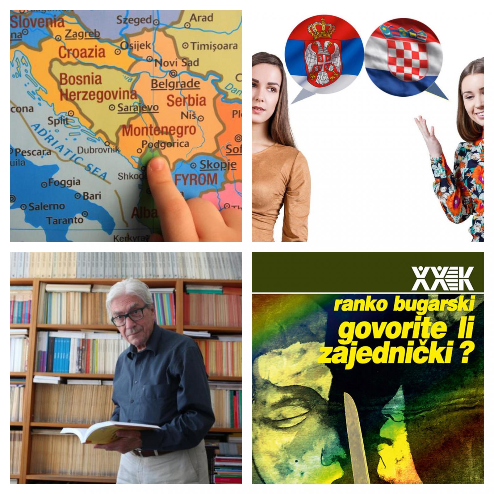 Skupni jezik 4 držav ex-Yu in Rajko Bugarski