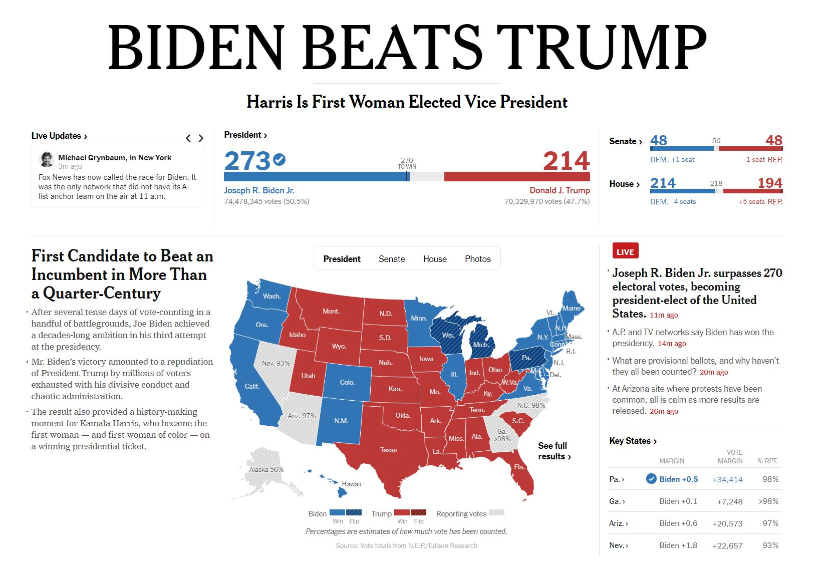 Članek New York Timesa