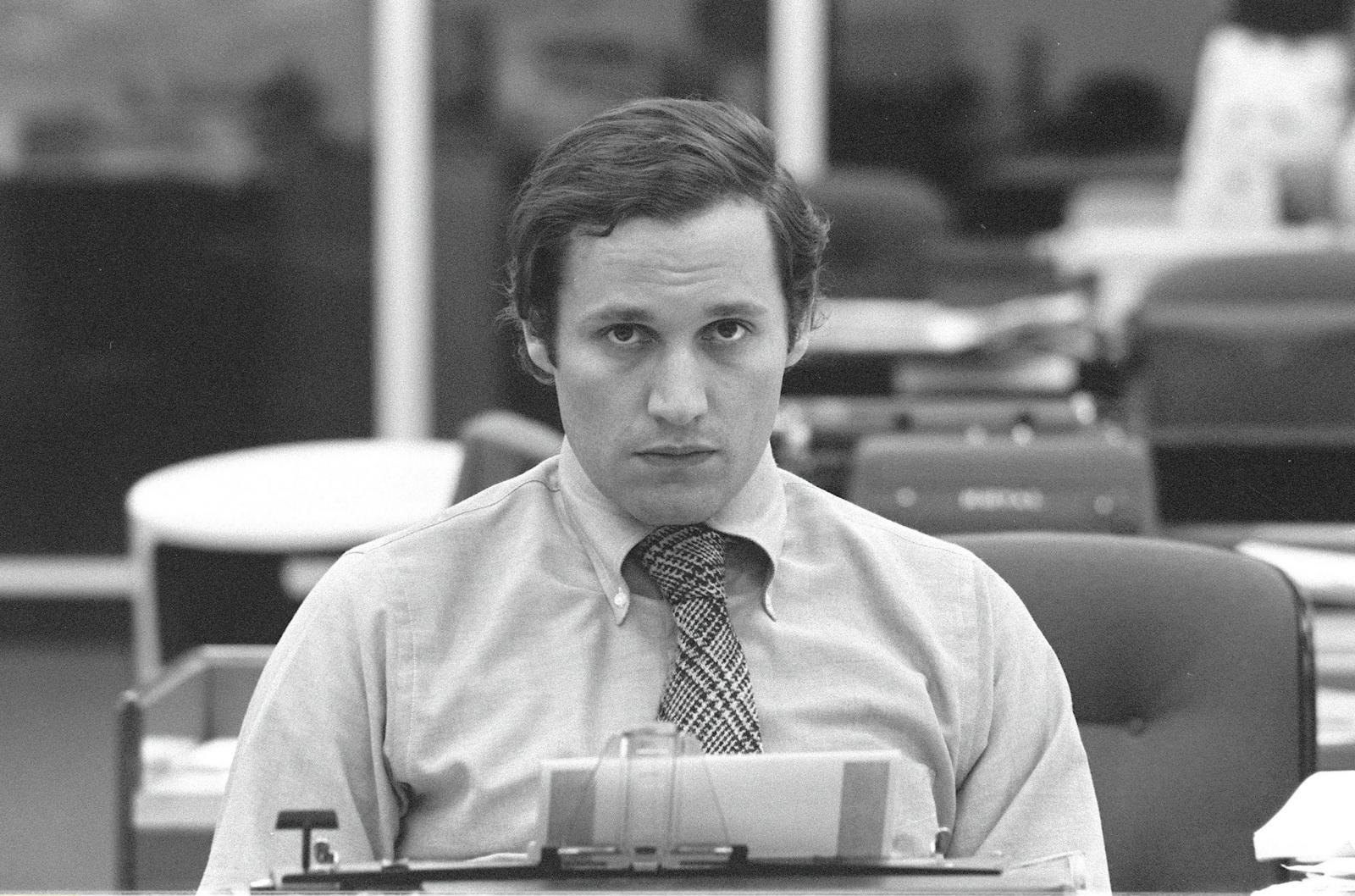 Bob Woodward leta 1973 Vir:Pixell