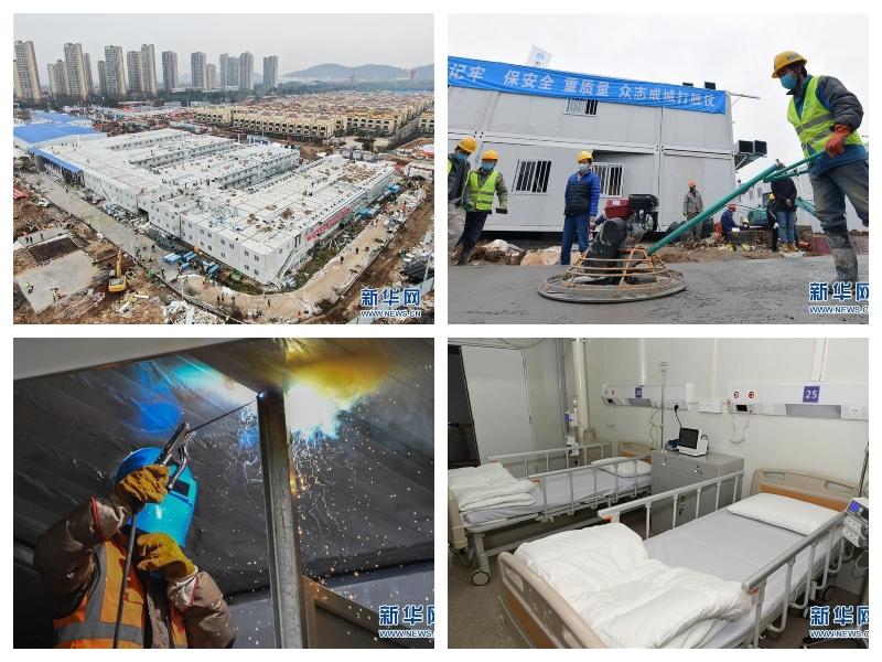 Bolnišnica v Wuhanu