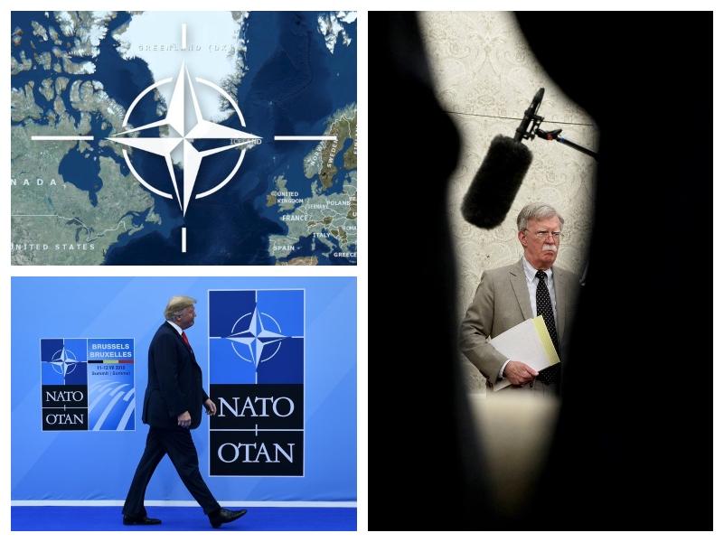 Bolton, Trump in Nato