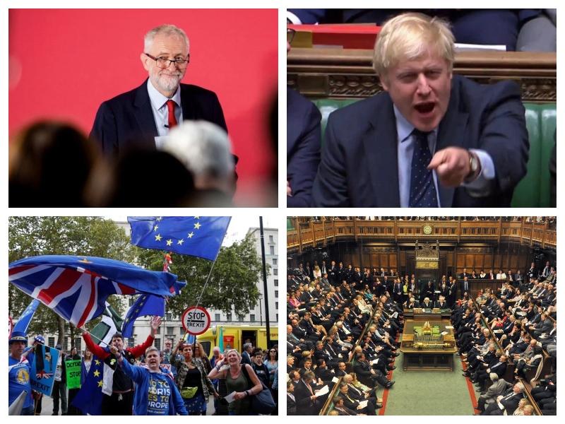Velika Britanija - parlament, brexit