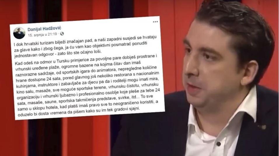 Danijel Hadžović, novinar