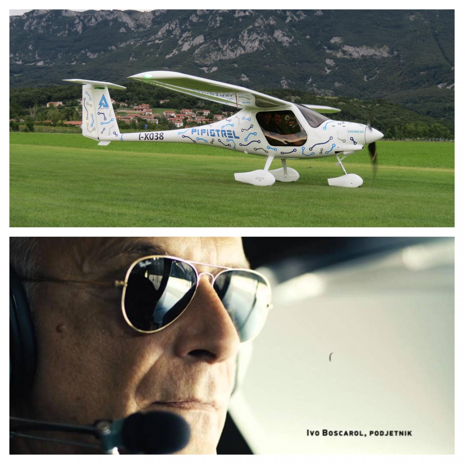 Ivo Boscarol - letalo in v pilotski kabini