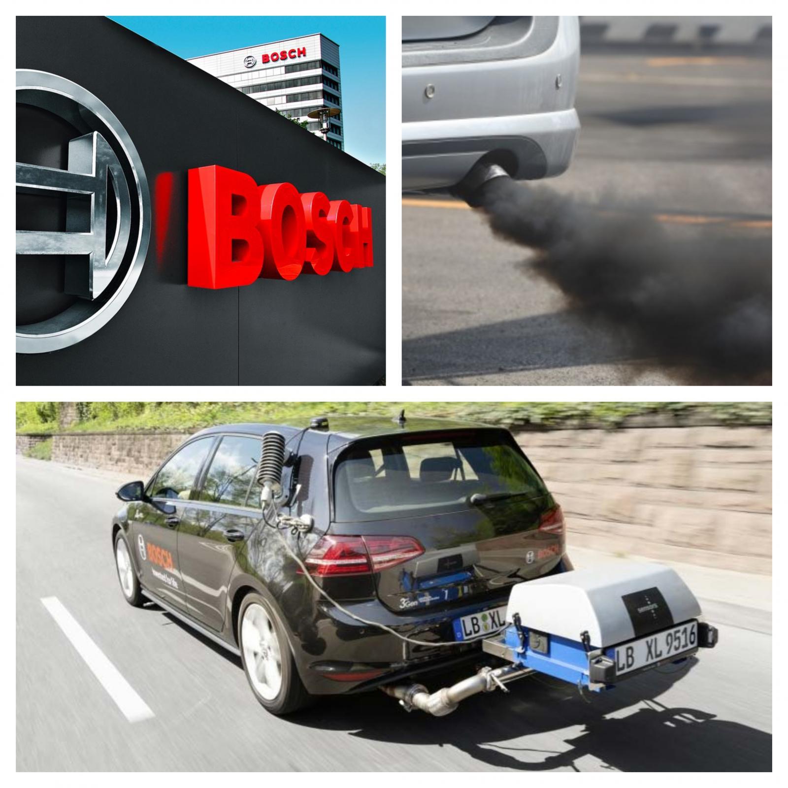 Boscheva nova tehnologija za dizelske motorje - merjenje izpustov