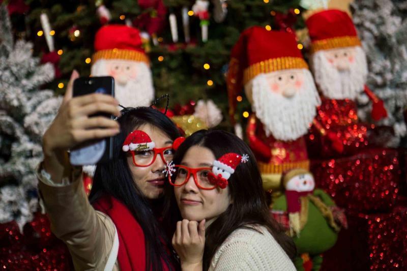 Božič na Kitajskem Vir:Pixsell