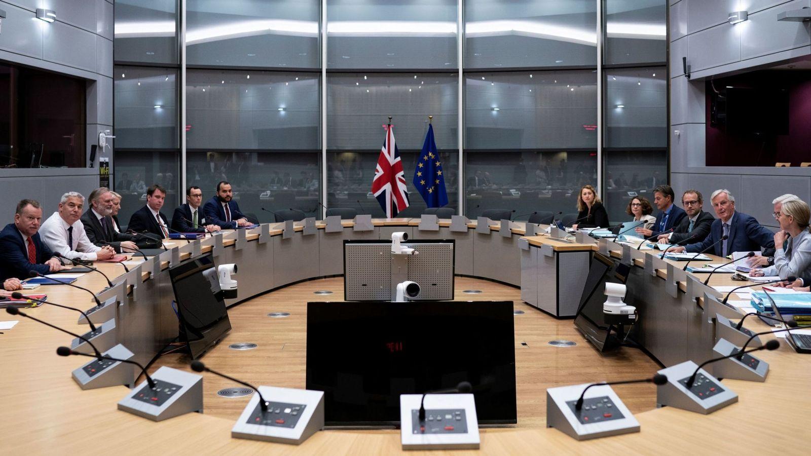 Brexit - pogajanja Vir: Sky News