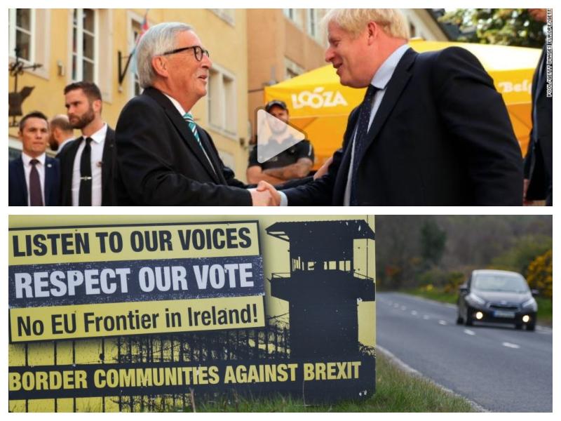 Brexit - dogovor in meja na Irskem