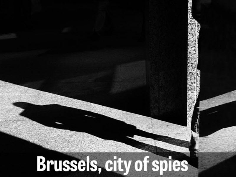 Bruselj, mesto vohunov